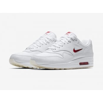 Schoenen Lage sneakers Nike Air Max 1 Jewel Red White/University Red