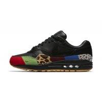 Schoenen Lage sneakers Nike Air Max 1 Master Black/Black-University Red-International Blue
