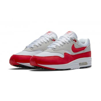 Schoenen Lage sneakers Nike Air Max 1 Og Red White/University Red - Neutral Grey Black