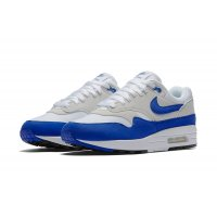 Schoenen Lage sneakers Nike Air Max 1 Og Blue  White/Game Royal-Neutral Grey-Black