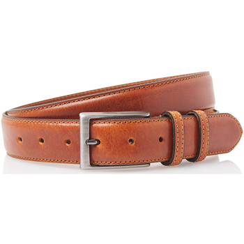 Accessoires Riemen Timbelt 35577 Volnerf Leren Pantalon Riem 105/3,5 cm Bruin
