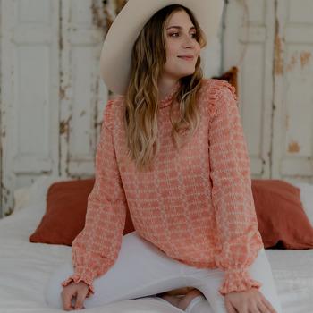 Textiel Dames Tops / Blousjes Céleste HIRONDELLE Roze