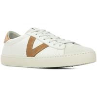 Schoenen Heren Lage sneakers Victoria Berlin Piel Contraste Wit