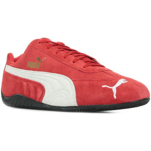 Schoenen Heren Lage sneakers Puma SpeedCat LS Rood