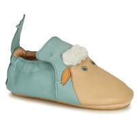 Schoenen Kinderen Sloffen Easy Peasy BLUBLU MOUTON Blauw