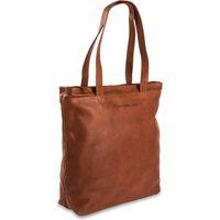 Tassen Dames Tote tassen / Boodschappentassen Chesterfield Leren Shopper 14 inch Bonn Bruin