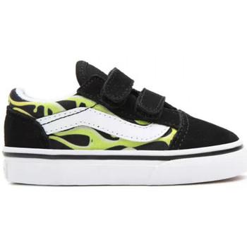 Schoenen Kinderen Skateschoenen Vans Old skool v Zwart