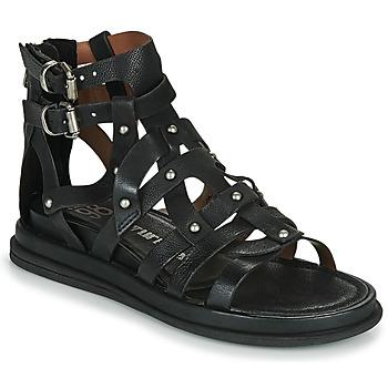 Schoenen Dames Sandalen / Open schoenen Airstep / A.S.98 POLA FLASH Zwart