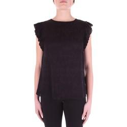 Textiel Dames Tops / Blousjes Versace Jeans Couture B0HWA631-09475 Nero