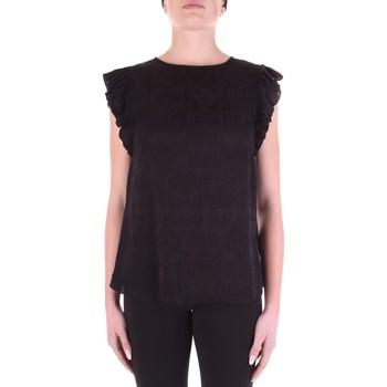 Textiel Dames Tops / Blousjes Versace B0HWA631-09475 Nero