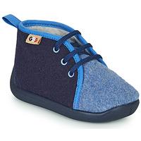 Schoenen Kinderen Sloffen GBB APOLOCHON Blauw