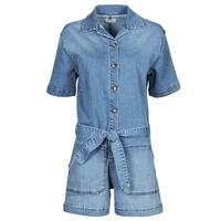 Textiel Dames Jumpsuites / Tuinbroeken Betty London ONIOU Blauw / Medium