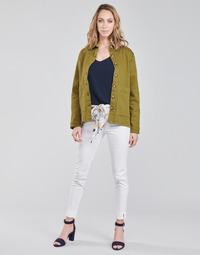Textiel Dames 5 zakken broeken Betty London OUMA Wit