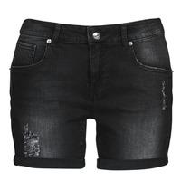 Textiel Dames Korte broeken / Bermuda's Moony Mood ONANA Zwart