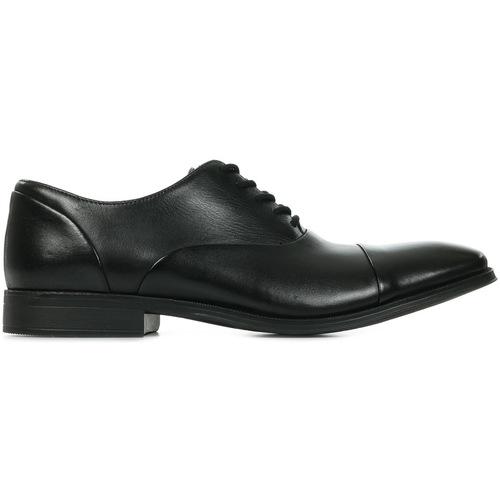 Schoenen Heren Klassiek Clarks Gilman Cap Black Zwart