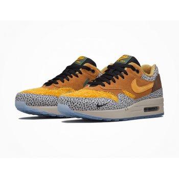 Schoenen Lage sneakers Nike Air Max 1 Atmos Safari Flax/Kumquat-Chestnut