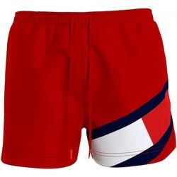 Textiel Heren Zwembroeken/ Zwemshorts Tommy Hilfiger 98342656 Rosso