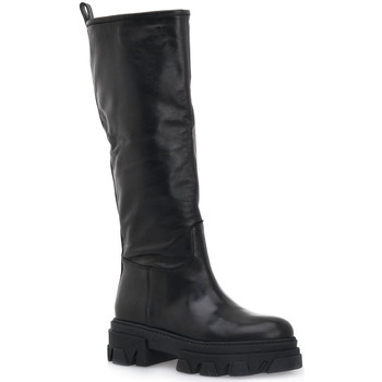 Schoenen Dames Hoge laarzen Priv Lab VITELLO NERO Nero