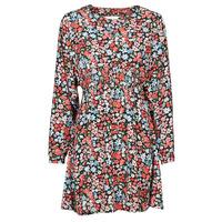 Textiel Dames Korte jurken Only ONLTAMARA Rood / Zwart