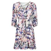 Textiel Dames Korte jurken Only ONLZOE Wit / Multicolour