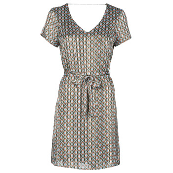 Textiel Dames Korte jurken Only ONLMADDI Kaki