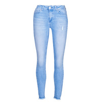 Textiel Dames Skinny jeans Only ONLBLUSH Blauw / Clair