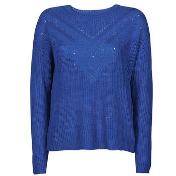 Textiel Dames Truien Only ONLTRIXIE Blauw