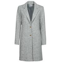 Textiel Dames Mantel jassen Only ONLCARRIE Grijs