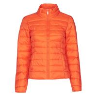 Textiel Dames Dons gevoerde jassen Only ONLNEWTAHOE Oranje