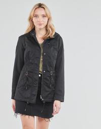 Textiel Dames Parka jassen Only ONLLORCA Zwart
