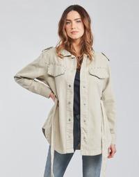 Textiel Dames Jasjes / Blazers Only ONLNORA Beige