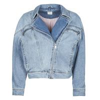 Textiel Dames Spijker jassen Only ONLJACK Blauw / Medium
