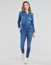 Textiel Dames Jumpsuites / Tuinbroeken Only ONLCALLI Blauw / Medium