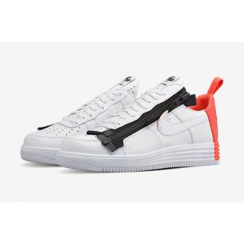 Schoenen Lage sneakers Nike Air Force 1 Lunar x Acronym Crimson White/Bright Crimson-Black