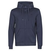 Textiel Heren Sweaters / Sweatshirts G-Star Raw PREMIUM BASIC HOODED ZIP SWEATER Marine
