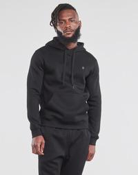 Textiel Heren Sweaters / Sweatshirts G-Star Raw PREMIUM BASIC HOODED SWEATE Zwart