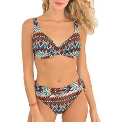 Textiel Dames Bikini Nana Sun 2013/ ETNICO Bruin