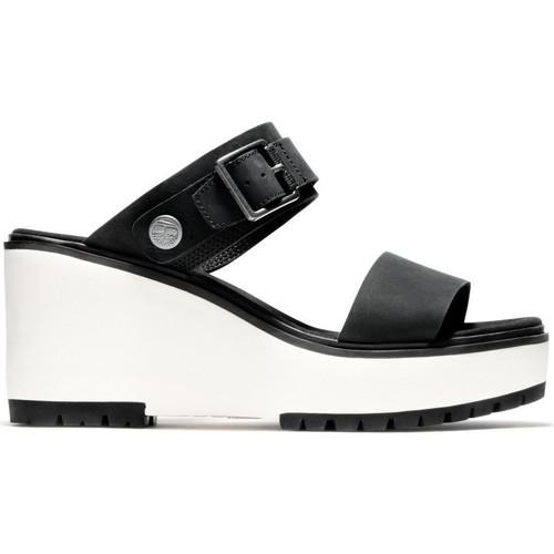 Schoenen Dames Sandalen / Open schoenen Timberland Koralyn 2 band Zwart
