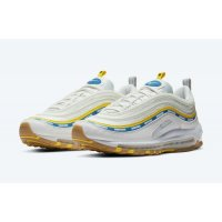 Schoenen Lage sneakers Nike Air Max 97 x undefeated Sail Sail/White/Aero Blue/Midwest Gold
