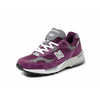 Schoenen Lage sneakers New Balance 992 Purple Grey Purple / Grey