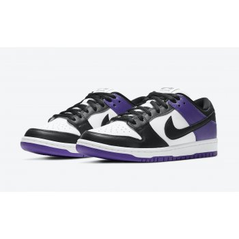 Schoenen Lage sneakers Nike SB Dunk Low Court Purple Court Purple/White/Court Purple/Black