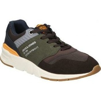 Schoenen Heren Lage sneakers Jack & Jones ZAPATOS  ATTACK CABALLERO VERDE-MARRON Vert