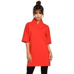 Textiel Dames Tunieken Be B043 Kimono tuniek - rood