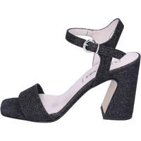 Schoenen Dames Sandalen / Open schoenen Olga Rubini Sandali Glitter Nero