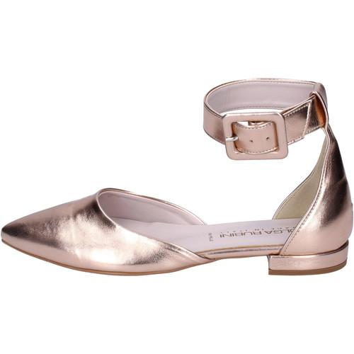Schoenen Dames Sandalen / Open schoenen Olga Rubini Sandali Pelle sintetica Rosa