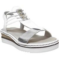 Schoenen Dames Sandalen / Open schoenen Rieker 679l1 Wit