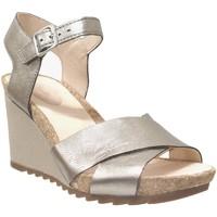 Schoenen Dames Sandalen / Open schoenen Clarks Flex sun Metaal grijs