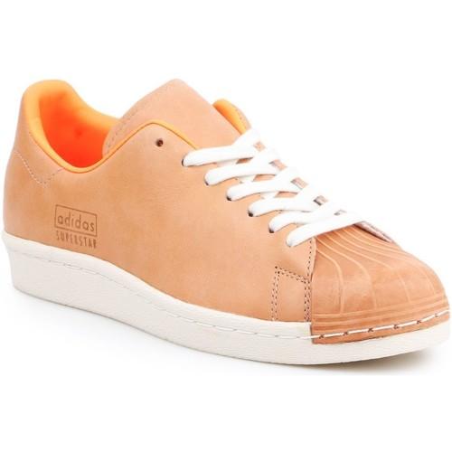 Schoenen Heren Lage sneakers adidas Originals Adidas Superstar 80s Clean BA7767 brown, orange