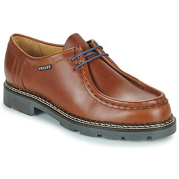 Schoenen Heren Derby Pellet Macho Bruin