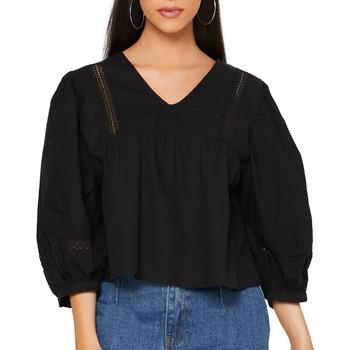 Textiel Dames Overhemden Jacqueline De Yong  Zwart